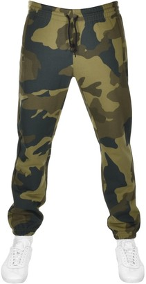 adidas Camouflage Jogging Bottoms Green