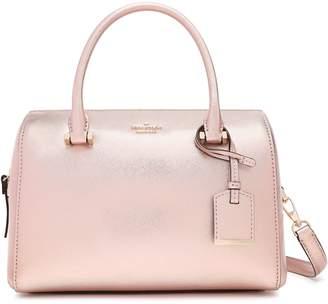 Kate Spade Cameron Street Lane Large Metallic Textured-leather Shoulder Bag