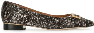 Tory Burch Gigi animal print 20mm flats