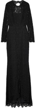 Rachel Zoe Angie Cutout Corded Lace Gown