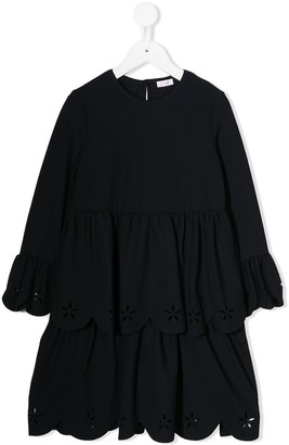 Il Gufo Short Layered Dress
