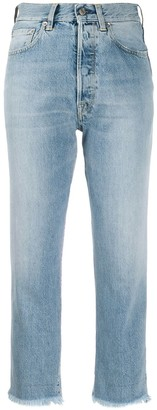 Golden Goose Frayed Cropped Jeans