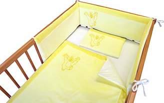 Mubrno 95902A Crib Bumper Small Mole Yellow