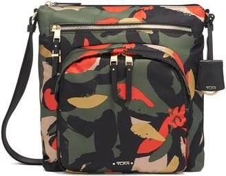 Tumi Voyageur Carmel Nylon Crossbody Bag