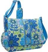 Vera Bradley Messenger Baby Bag (Doodle Daisy)
