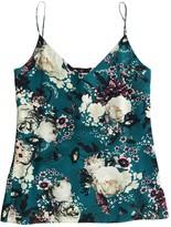 Erdem Green Silk Top for Women