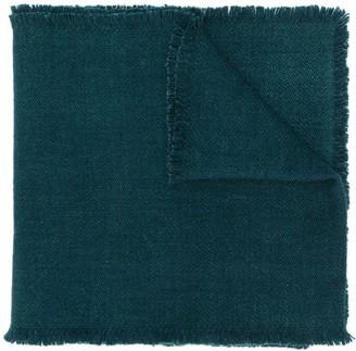 Denis Colomb four-sided fringe scarf
