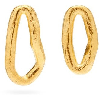 Alighieri The Phoenician 24kt Gold-plated Hoop Earrings - Gold