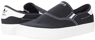 adidas Skateboarding 3MC Slip-On (Core Black/Fake Fur/Gold Metallic) Shoes