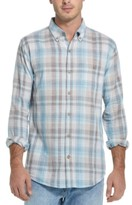 Weatherproof Vintage Men's Regular-Fit End-On-End Plaid Shirt