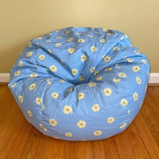 Grove Lane Painted Daisies Standard 100% Cotton Classic Bean Bag Grovelane