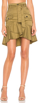 Marissa Webb Rocco Skirt in Olive. - size 0 (also in 2,4,6)