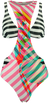 Salinas Stripe Double One Piece