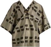 Vivienne Westwood Kick Out jacquard kimono top