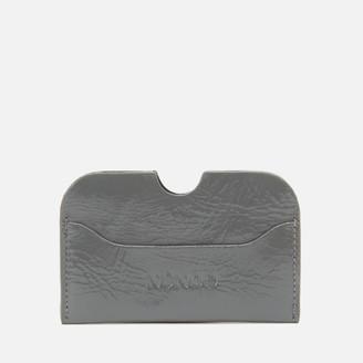 Nunoo Women's Carla Gloss Card Holder - Grey