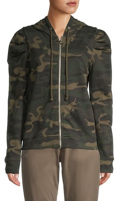 RD Style Camo Cotton Full-Zip Hoodie