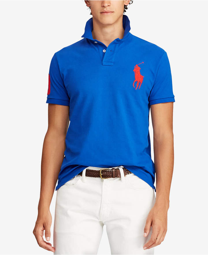 5a12ca4ba Ralph Lauren Polo Big Pony And Number Shirts Men - ShopStyle