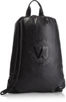 Versace VJ Tiger Dis. 6 Black Polyester Backpack