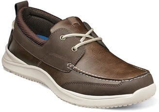 Nunn Bush Conway Moc Toe Boat Shoe - Wide Width Available
