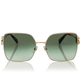 Valentino VLOGO square sunglasses