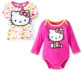 Hello Kitty Baby Girls' Bodysuit and T-shirt Set - (0/3 mo)