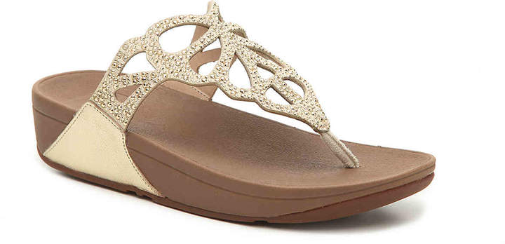 FitFlop Bumble Crystal Wedge Sandal - Women's
