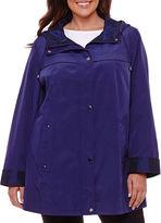 ST. JOHN'S BAY St. John's Bay Water Resistant Raincoat-Plus