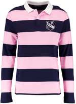 Pier 1 Imports Polo shirt blue/pink