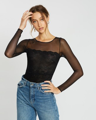Mng Lace Bodysuit