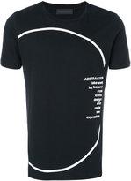 Diesel Black Gold Ty Circle T-shirt - men - Cotton - S