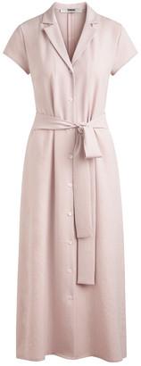Zenggi Pink Japanese Crepe Dress - s