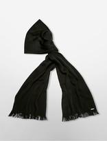 Calvin Klein Heathered Wrap Knit Scarf