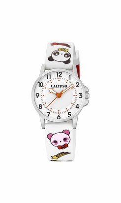 Calypso Watches Unisex Child Analogue Classic Quartz Watch with Plastic Strap K5775/1