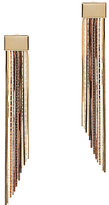 Rosantica Cattiva Metal Fringe Earrings