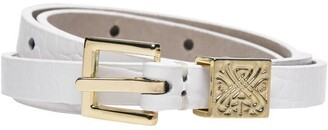 Biba Leather Skinny Belt