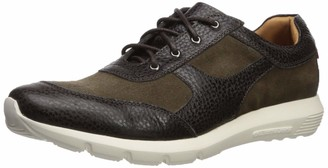 Marc Joseph New York Men's Leather Extra Lightweight Technology Fashion Trainer Sneaker