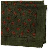 Ralph Lauren Equestrian Wool Pocket Square