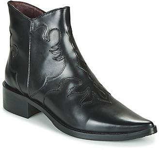 Muratti REDBUD women's Low Ankle Boots in Black