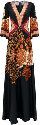 Etro Printed Gown