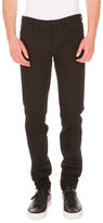 Givenchy Rico Slim-Fit Jeans w/Star Patches, Black