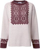 Chloé stencil jacquard jumper - women - Wool - M