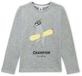 Petit Bateau Boys T-shirt with placement design