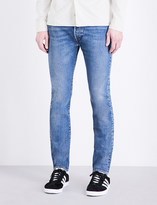 Levi's 501 regular-fit tapered stretch-denim jeans