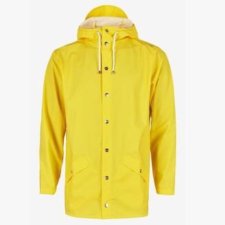 Rains Yellow Waterproof Jacket - XXS/XS - Yellow