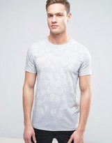 Ted Baker T-shirt In Leaf Print