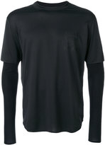 Satisfy layered sports top