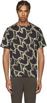 Paul Smith Khaki Hearts T-Shirt