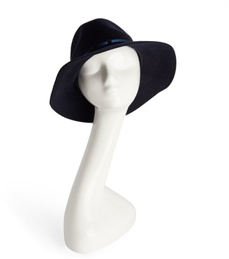 Peter Bettley Leather-Trim Fedora