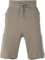 Helmut Lang drawstring pocket shorts - men - Cotton/Spandex/Elastane/Viscose - M