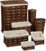 Honey-Can-Do 7-Piece Wicker Hamper & Basket Set